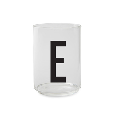 Design Letters Personal Drinking Glass (A-Z)
