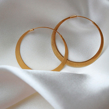 Enamel Copenhagen Simplicity Earrings Gold-Plated