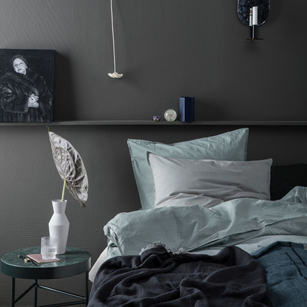 Ferm Living Hush Duvet Cover Light Grey