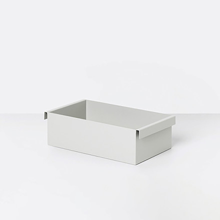 Ferm Living Plant Box Container Light Grey