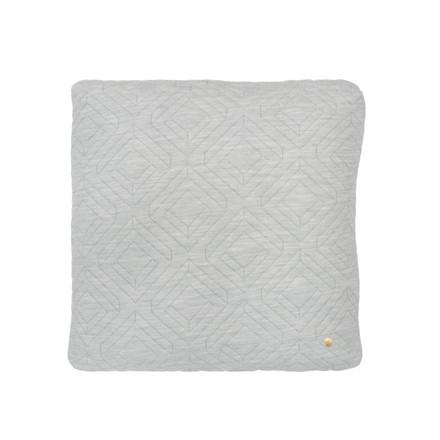 Ferm Living Quilt Cushion Light Grey 45 x 45