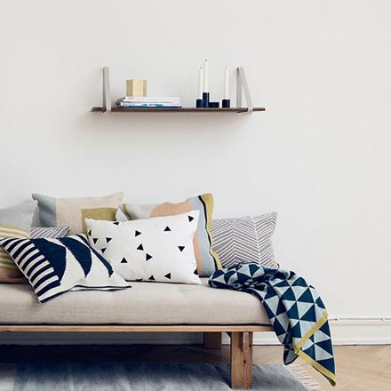 Ferm Living Shelf Hangers Light Grey