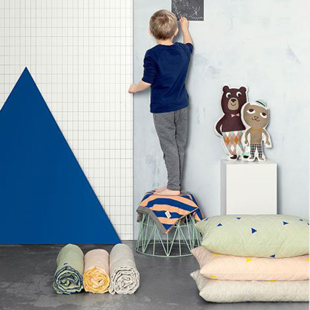 Ferm Living Teepee Quilted Blanket