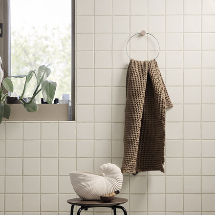 Ferm Living Towel Hanger Chrome