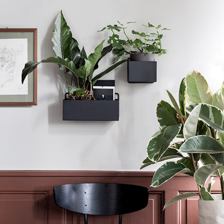 Ferm Living Wall Box Rectangle Black