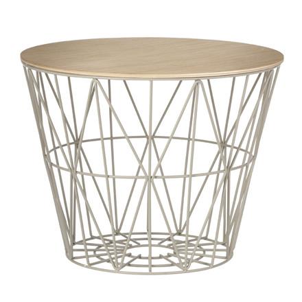 Ferm Living Wire Basket Top Olieret Eg