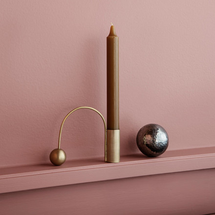 Ferm Living Balance Candle Holder Brass