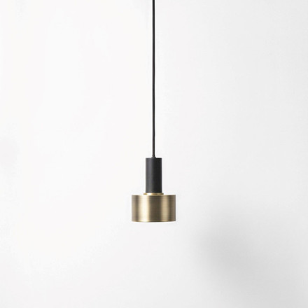Ferm Living Socket Pendant Low Black