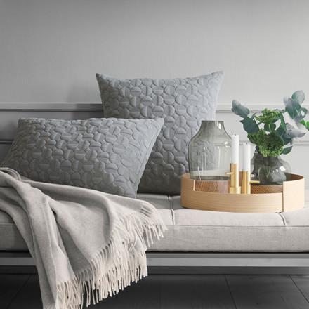 Fritz Hansen Objects Vertigo Pillow Light Grey 40 x 60