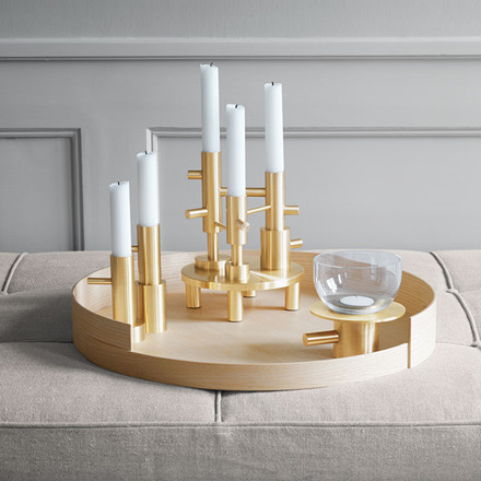 Fritz Hansen Objects Candleholder Single No 2