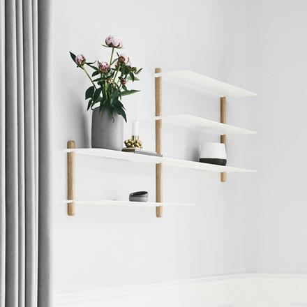 Gejst NIVO Shelf B Light Oak White