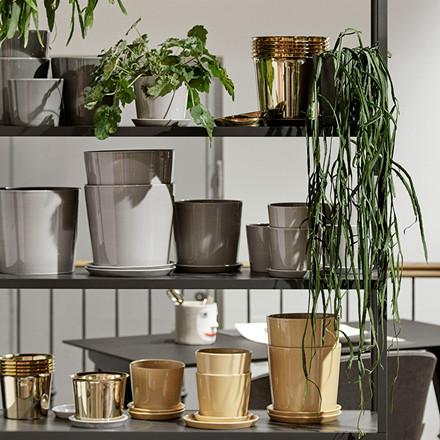 HAY Botanical Family Pot XL Warm Yellow