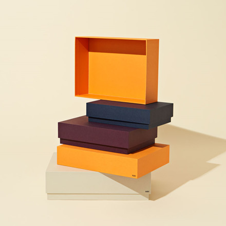 HAY Box Box Desktop Set of 4 Warm Sand