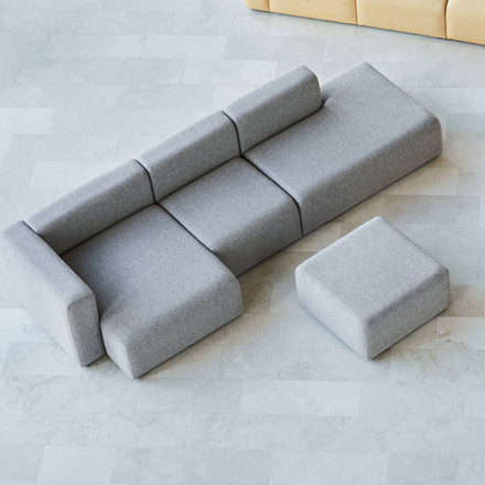 HAY Mags 3 Seater Sofa Combination 4 Right End