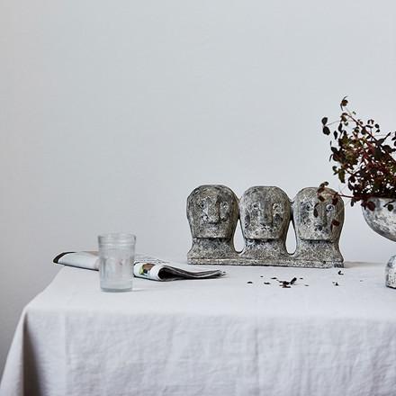 House Doctor Ancient Head Kunstværk Grå/Brun