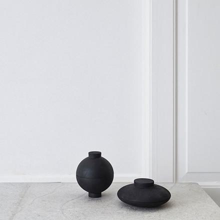 Kristina Dam Wooden Sphere Bowl Black