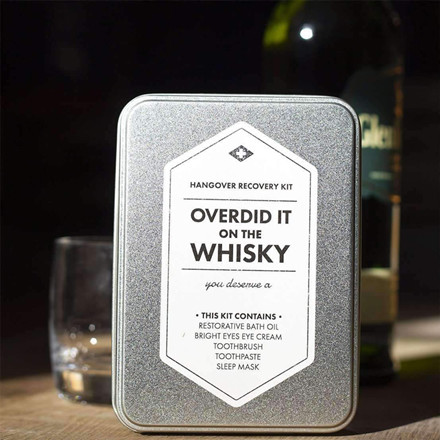 Men's Society Overdid It On The Whisky Kit