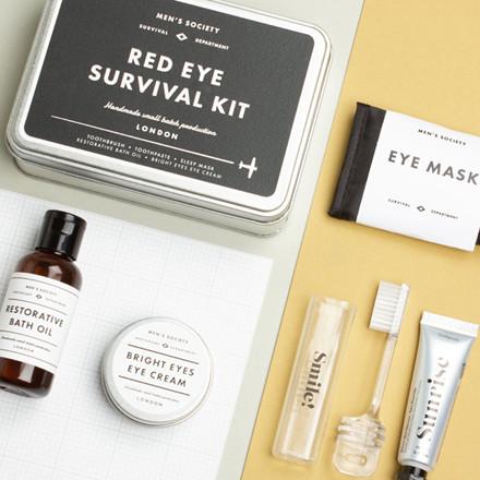 Men's Society Red Eye Survival Kit
