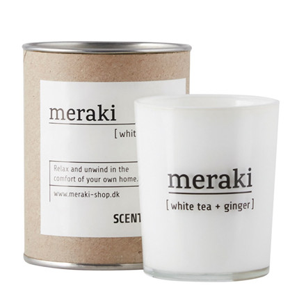 Meraki White Tea & Ginger Duftlys