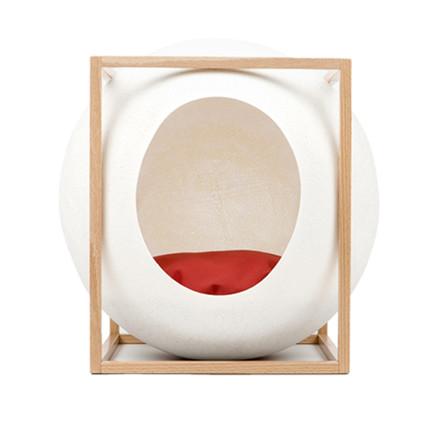 Meyou Paris The Cube Ivory Wood Edition Kattekurv