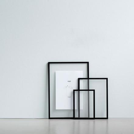 Moebe Black Frame A5