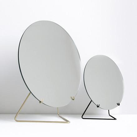 Moebe No. 2 Spejl Sort
