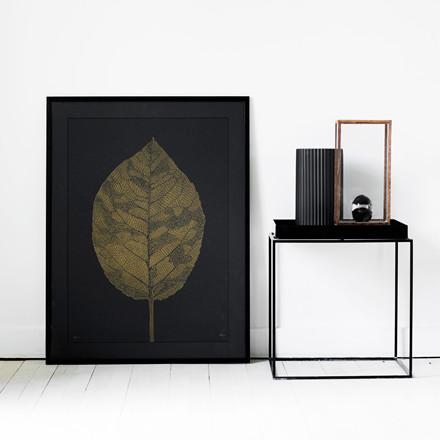 Monika Petersen Leaf Black Plakat