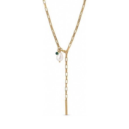 Enamel Copenhagen Azra Necklace Gold-Plated