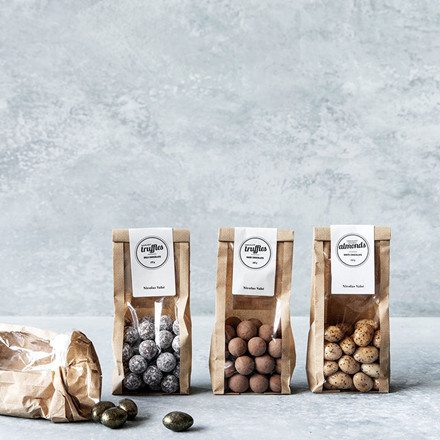 Nicolas Vahé Chocolate Covered Almond With Cinnamon