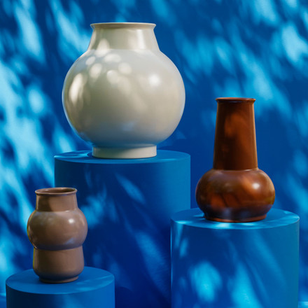 Normann Cph Tivoli Bazaar Vase Large Warm Grey
