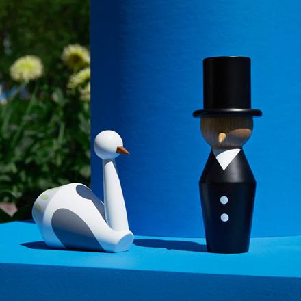 Normann Cph Tivoli Tale Figurines Swan White Small