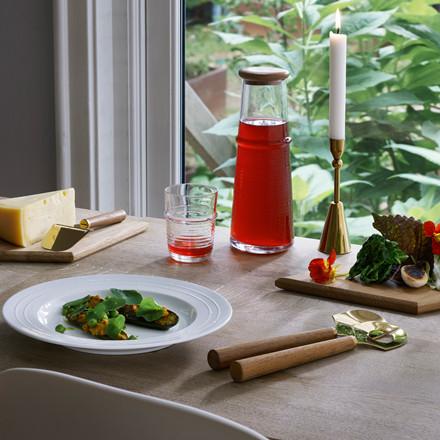 Normann Cph Tivoli Tour Salatbestik Teaktræ & Messing