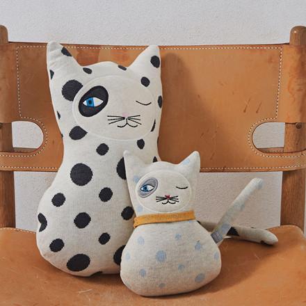 OYOY Baby Benny Cat Darling Cushion