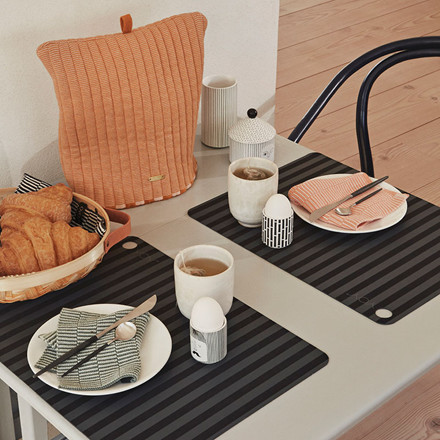 OYOY Stringa Dishcloths Caramel/Rose & Ocean/Minty