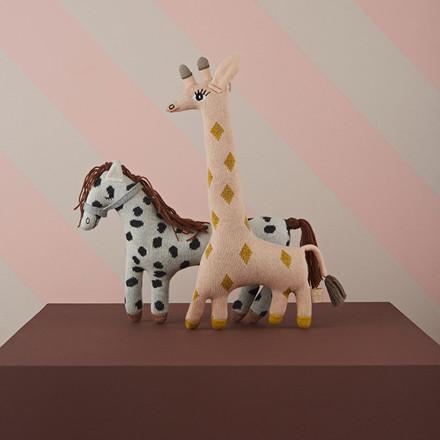 OYOY Baby Guggi Giraff Darling Cushion