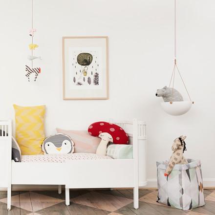 OYOY Pif Paf Puf Hanging Storage White