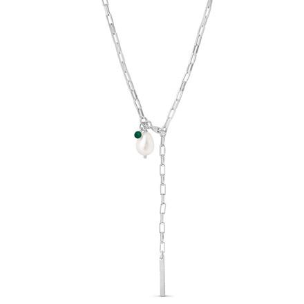 Enamel Copenhagen Azra Necklace Silver