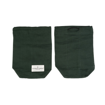 The Organic Company Food Bag Dark Green Small