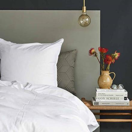 Semibasic A Bed Linen White/White