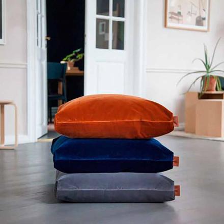 Semibasic PUF Velour Cushion Grey