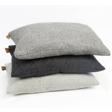 Skriver Collection Baby Alpaca Cushion Herringbone