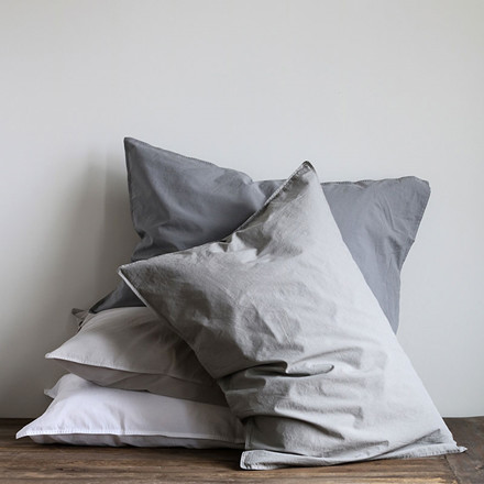 Tell Me More Pillowcase Dark Grey