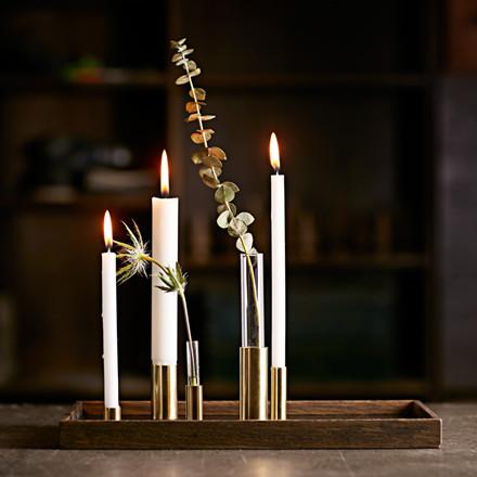 The Oak Men Candle Tray De Luxe