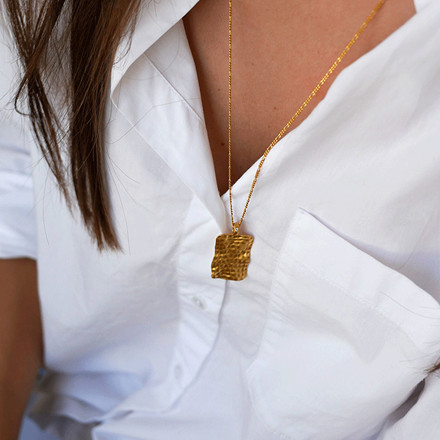 Enamel Copenhagen Vita Necklace Gold-Plated