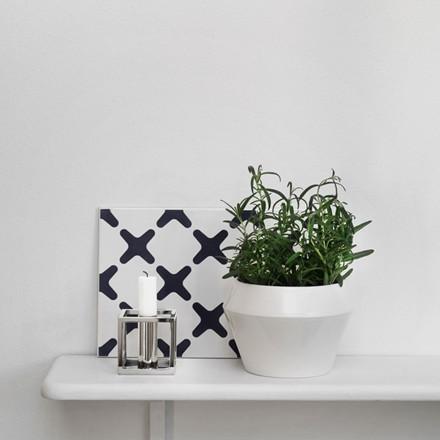 By Lassen Rimm Flowerpot Hvid