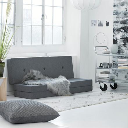 By KlipKlap 3 Fold Blue Grey W. Grey