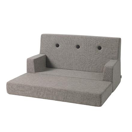 By KlipKlap Kids Sofa Multi Grey W. Grey