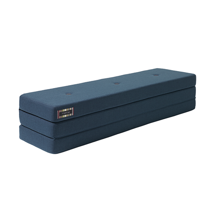 By KlipKlap 3 Fold XL Dark Blue W. Black