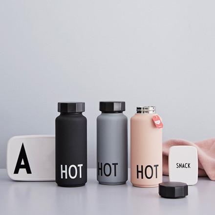 Design Letters Hot&Cold Termoflaske Nude