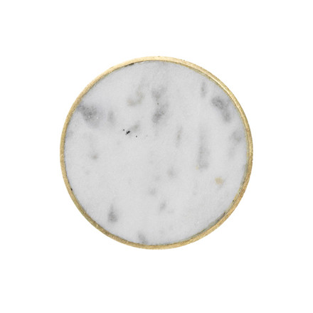 Ferm Living Stone Hook White Marble Large